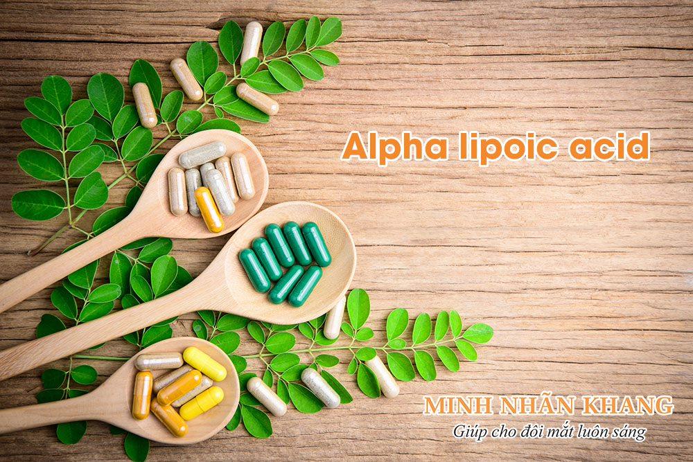 Bổ sung Alpha lipoic acid là cách chữa hiện tượng ruồi bay hiệu quả bền vững nhất